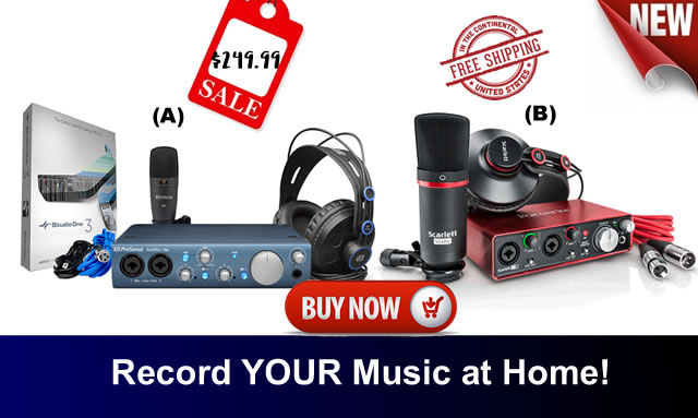 Awe Inspiring Home Recorder Home Recording Studio Equipment Superstore Largest Home Design Picture Inspirations Pitcheantrous
