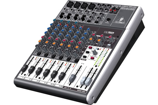 behringer xenyx 1204usb mixer usb audio interface hr. Black Bedroom Furniture Sets. Home Design Ideas