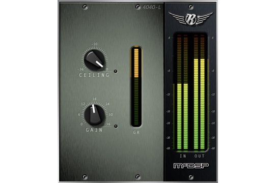 McDSP 4040 Retro Limiter HD Plugin
