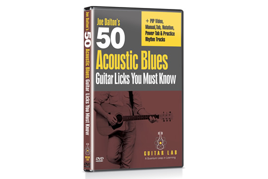Guitar Lab 50 Acoustic Blues Guitar Licks You Must Know DVD