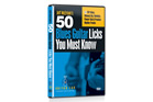 Guitar Lab 50 Blues Guitar Licks You Must Know DVD
