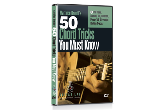 Guitar Lab 50 Chord Tricks You Must Know DVD