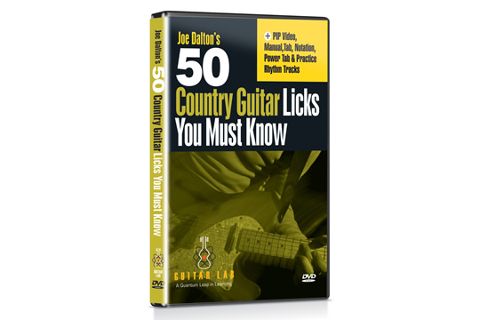 Guitar Lab 50 Country Guitar Licks You Must Know DVD