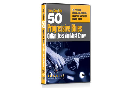 Guitar Lab 50 Progressive Blues Guitar Licks You Must Know DVD
