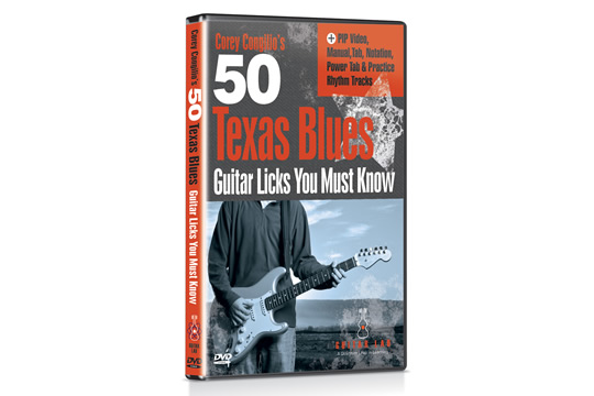 Guitar Lab 50 Texas Blues Licks You Must Know DVD