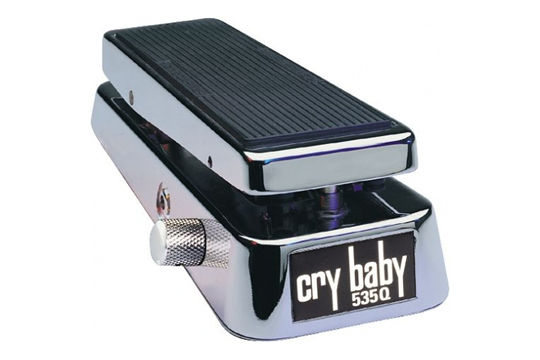 Dunlop 535Q-C Chrome Crybaby Wah Pedal