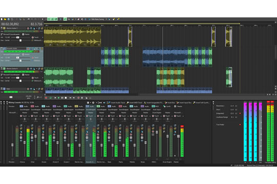 Sony Acid Pro 7 Recording Software