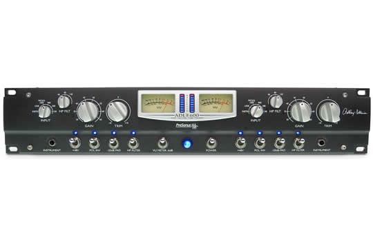 PreSonus ADL600 2-Channel Tube Microphone Preamplifier