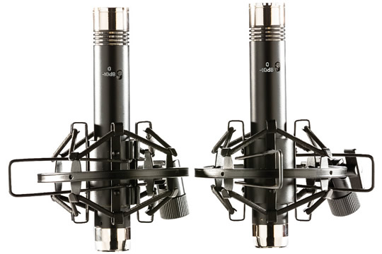 apex apex185b matched pair pencil condenser microphones