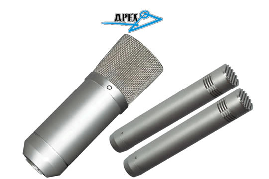 apex apex sp1 studio microphone pack hr. Black Bedroom Furniture Sets. Home Design Ideas