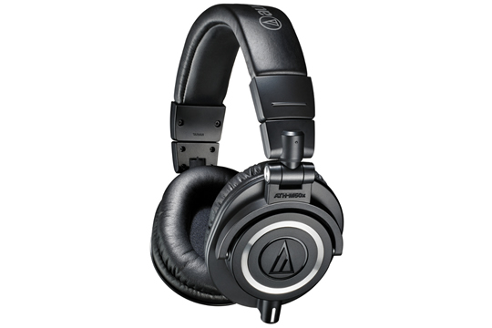 Audio-Technica ATH-M50x Pro Studio Monitoring Headphones