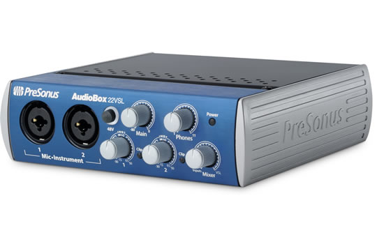 PreSonus AUDIOBOX 22VSL USB 2.0 Audio Interface