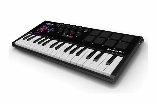 M-Audio Axiom Air Mini 32 Key USB MIDI Pad Controller Keyboard