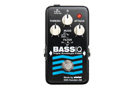 EBS BassIQ Blue Label Analog Envelop Filter Effects Pedal