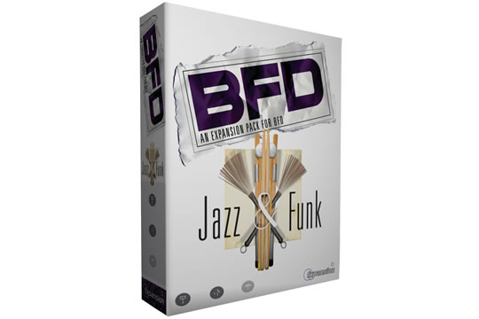 FXpansion BFD Jazz and Funk Expansion Pack
