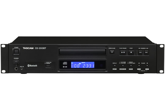 TASCAM CD-200BT Bluetooth CD Player