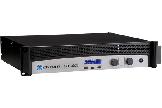 Crown CDi1000 Dual Channel 500W Power Amplifier