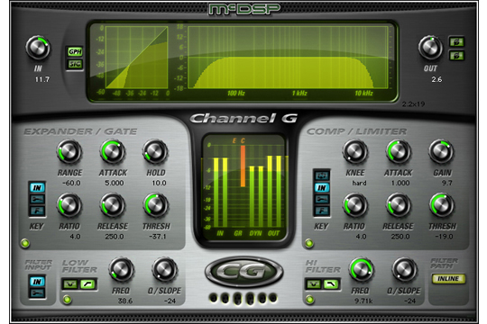 McDSP Channel G Native Plugin (DOWNLOAD)