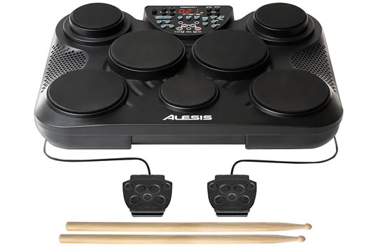 Alesis CompactKit 7 7-Pad Portable Tabletop Drum Kit