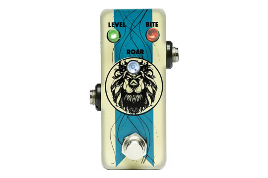 F-Pedals Damn10 Italian Distortion Effects Pedal