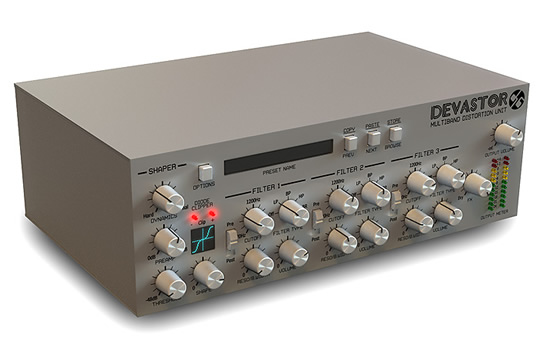 D16 Group DEVASTOR Multiband Distortion Plugin - HR