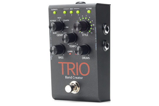 digitech trio band creator effects pedal hr. Black Bedroom Furniture Sets. Home Design Ideas