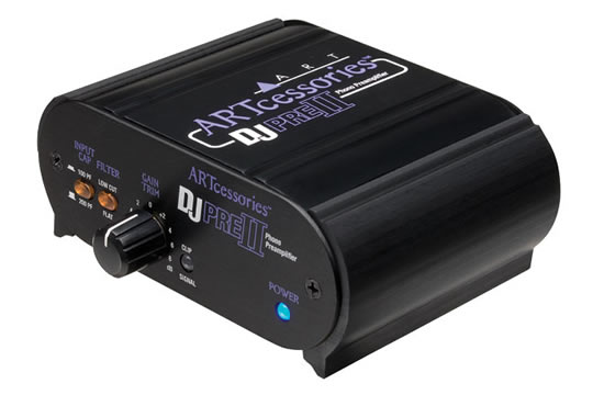 ART DJPRE II 2 Phono Preamplifier