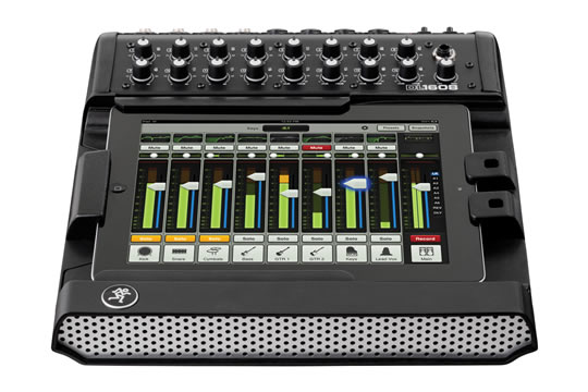Mackie DL1608 16-Channel Live iOS Digital Mixer