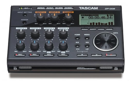TASCAM DP-006 POCKETSTUDIO 6-Track Digital Recorder