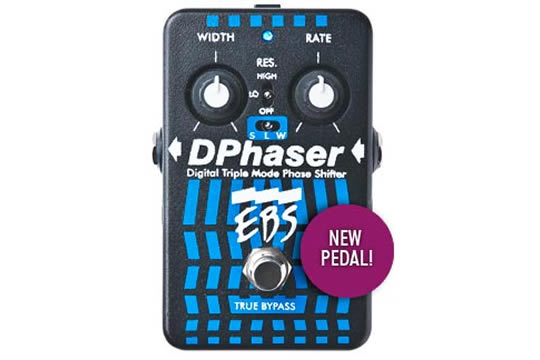 EBS DPhaser Phase Shifter Effects Pedal