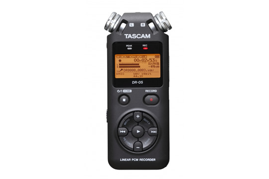 TASCAM DR-05 High Quality Stereo Digital Recorder