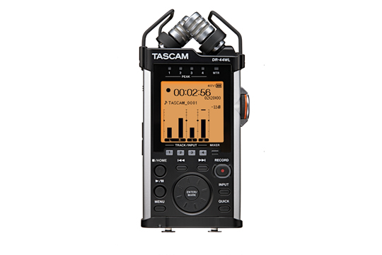TASCAM DR-44WL 4 Channel WiFi Digital Recorder