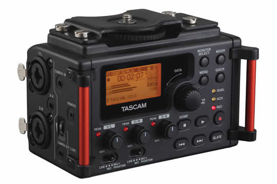 TASCAM DR-60DMKII DSLR Digital Recorder