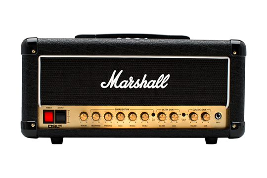 Marshall DSL20HR 20W Tube 2CH Guitar Amplifier Head