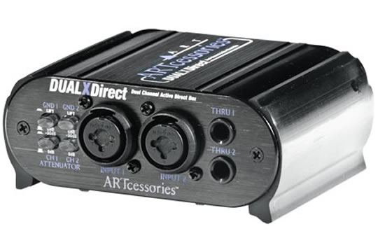 ART DUALXDirect Dual Professional Active DI Box