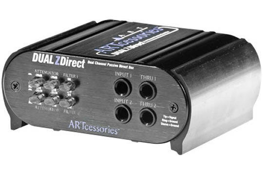 ART DUALZDIRECT Dual Professional Passive DI Box