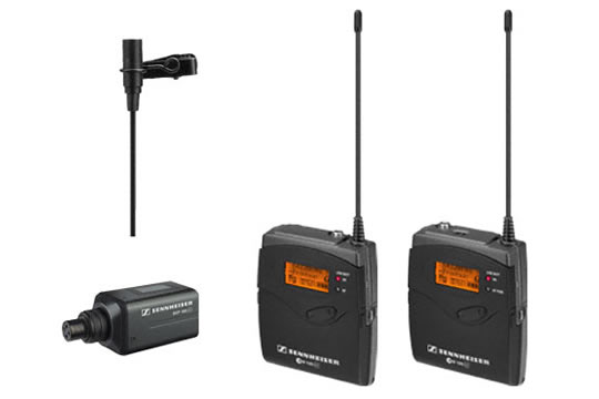 Sennheiser EW100 ENG G3 Wireless UHF Camera-Mount System