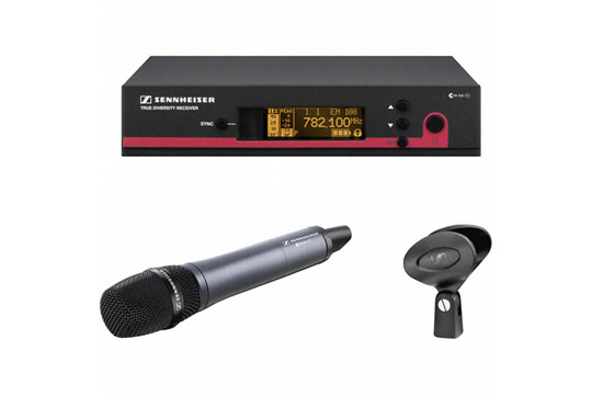 Sennheiser EW135 G3 Wireless Handheld Microphone System with e835