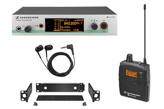 Sennheiser EW300 IEM G3 Wireless In-Ear Monitor System