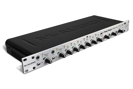 m audio fast track ultra 8r preamp usb audio interface hr. Black Bedroom Furniture Sets. Home Design Ideas