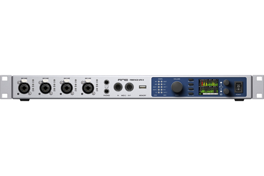 RME FIREFACE UFX II 60CH Firewire USB 2.0 Audio MIDI Interface
