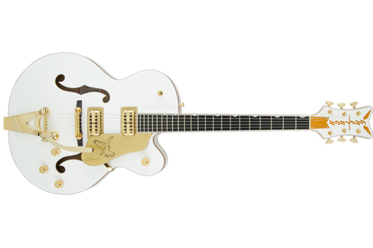 Gretsch G6136T-WHT Players Edition Electric Guitar with Bigsby