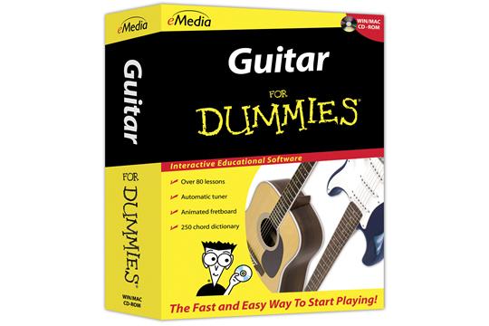 emedia guitar for dummies lessons instructional tutorial cdrom hr. Black Bedroom Furniture Sets. Home Design Ideas
