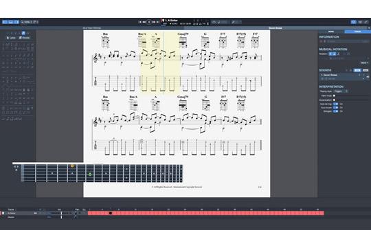 Arobas Guitar Pro 7 Tablature Notation Software - HR