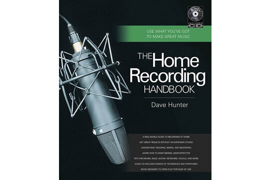 Backbeat Books Home Recording Handbook