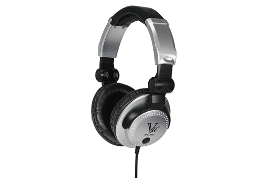 Vu HPC-7000 Closed Back Collapsible Studio Headphones