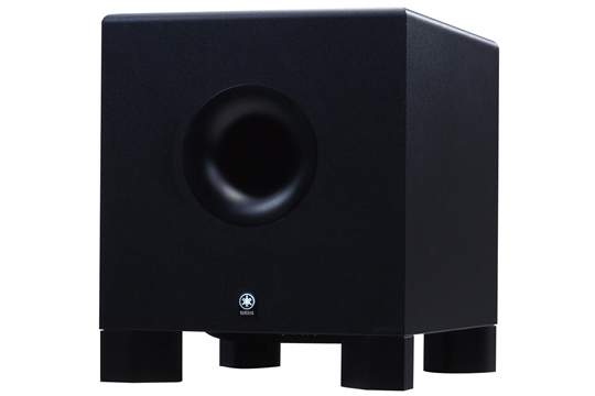 yamaha hs10w 120w powered studio subwoofer hr. Black Bedroom Furniture Sets. Home Design Ideas