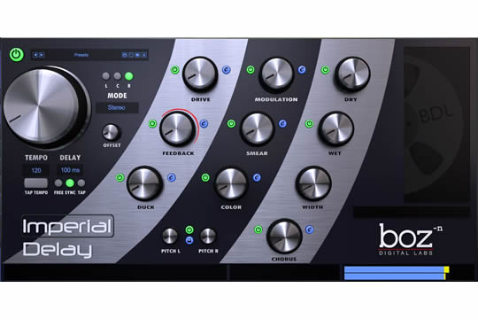 Boz Digital Imperial Delay Plugin (DOWNLOAD)