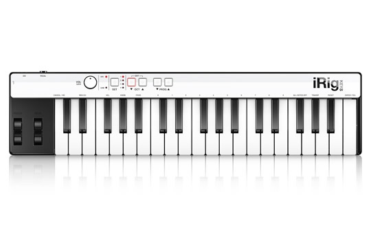IK Multimedia iRig KEYS Mini iPad Controller Keyboard