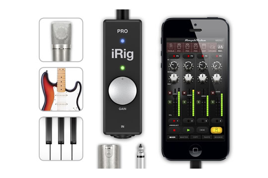 IK Multimedia iRig PRO All-In-One Audio MIDI Interface